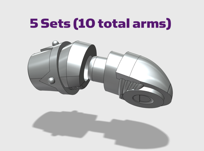Adjustable Arms : Chaos 3d printed