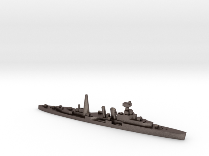 HMS Coventry (masts) 1:1800 WW2 naval cruiser 3d printed