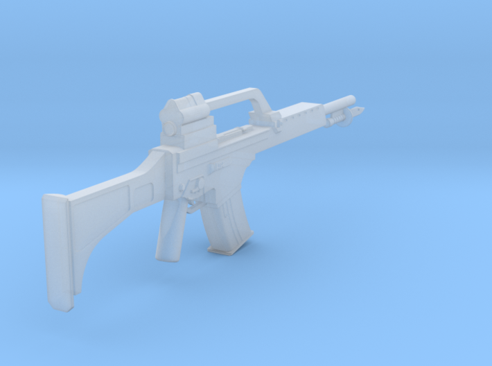 1:6 Heckler and Koch G36 with Bayonet 3d printed