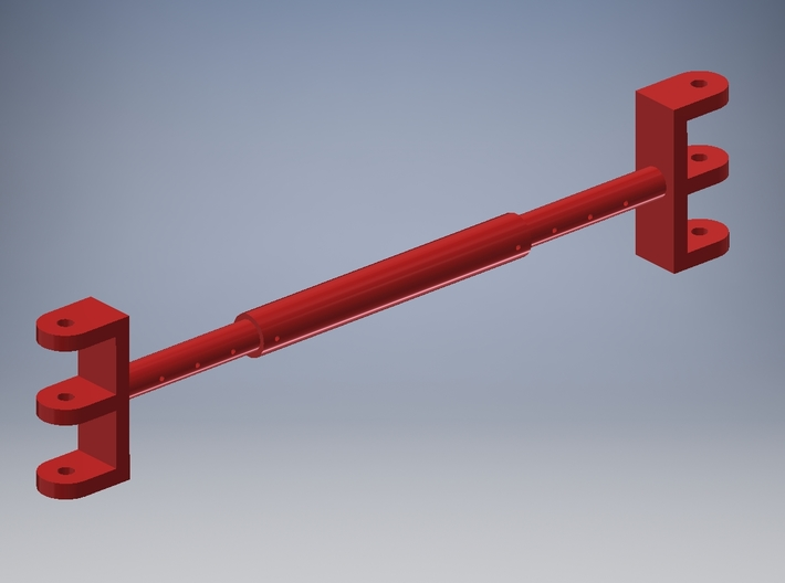 Pendant rope spreader for TWH Manitowoc 4100 3d printed