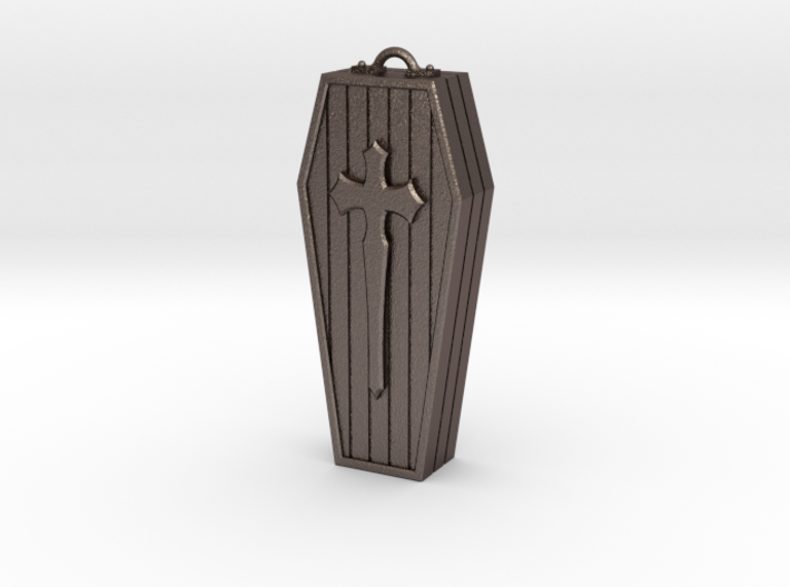 Coffin pendant 3d printed