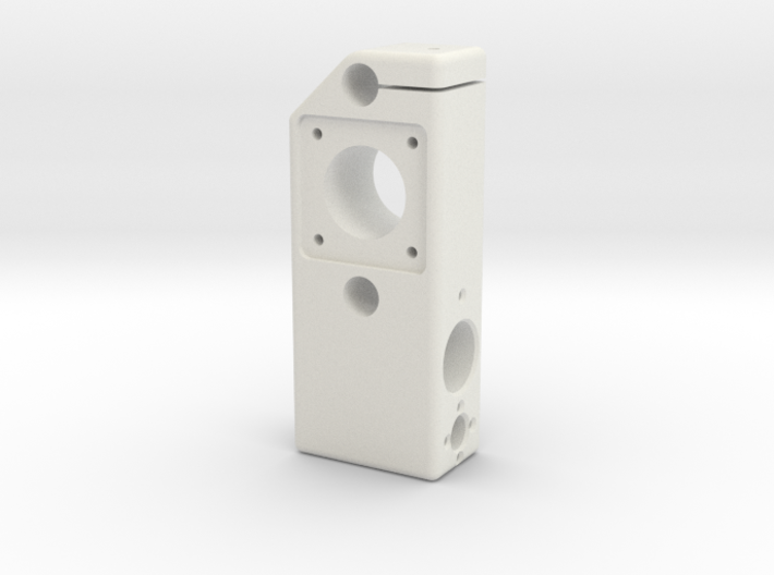 CNC structure 9 3d printed