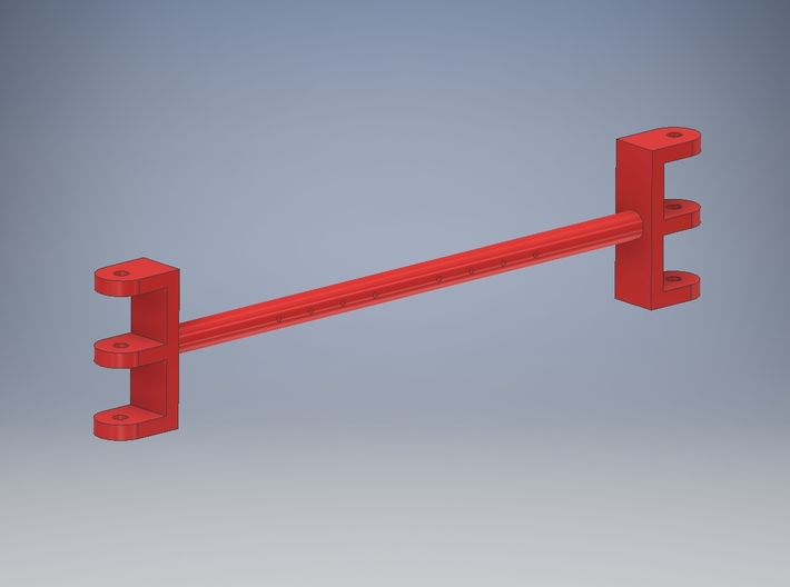 Pendant rope spreader V2 for TWH Manitowoc 4100 3d printed