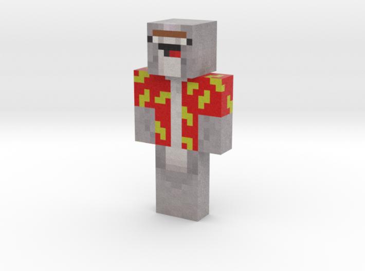 NedMcNarwhal | Minecraft toy 3d printed