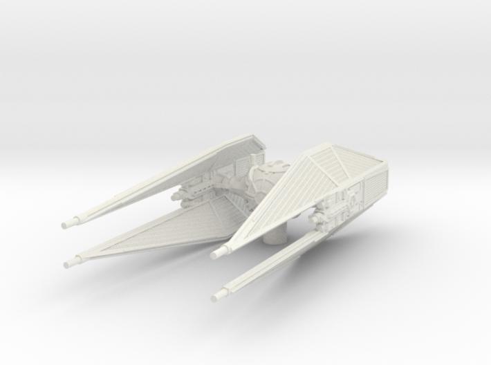 TIE Whisper Interceptor 1/270 3d printed
