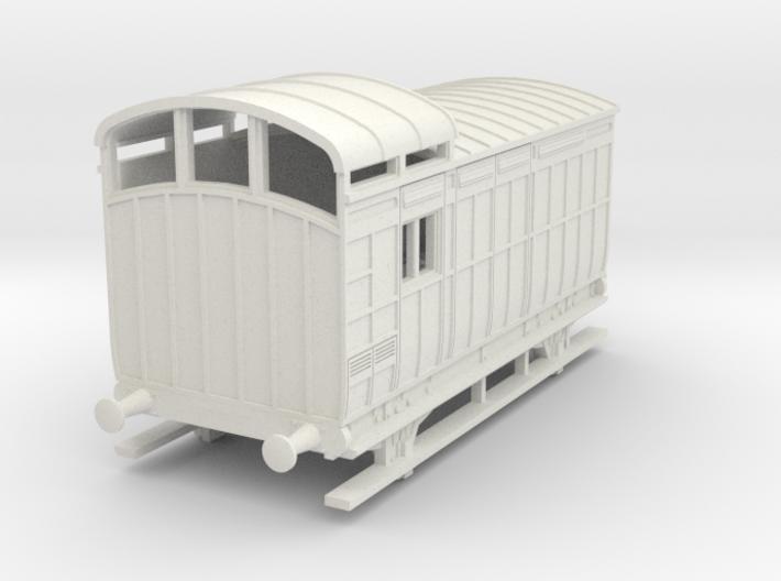 o-87-nlr-18-6-luggage-brake-coach 3d printed