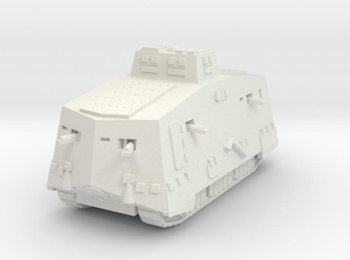 A7V 2 Tank 1/87 3d printed