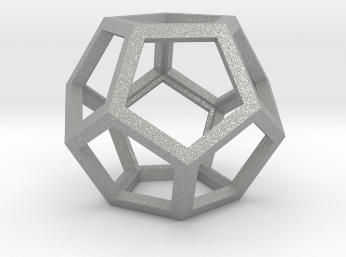 "Dodecahedron 1.75"" 3d printed"