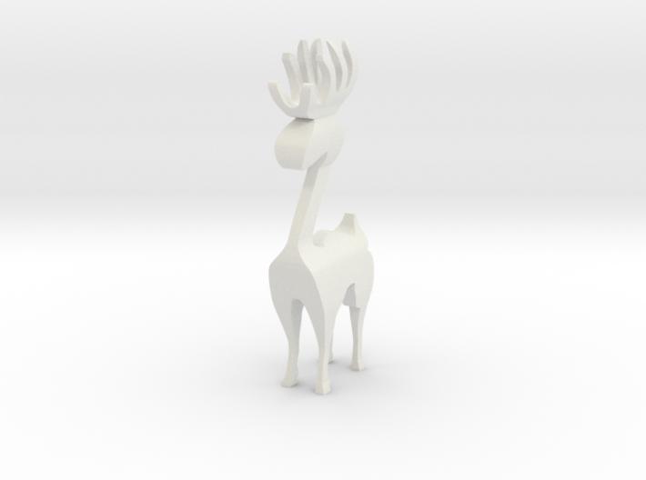Reindeer figure (scrollsaw/bandsaw) 3d printed