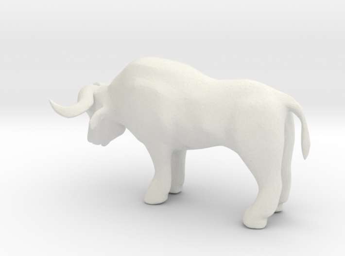 S Scale Ox 3d printed This is a render not a picture