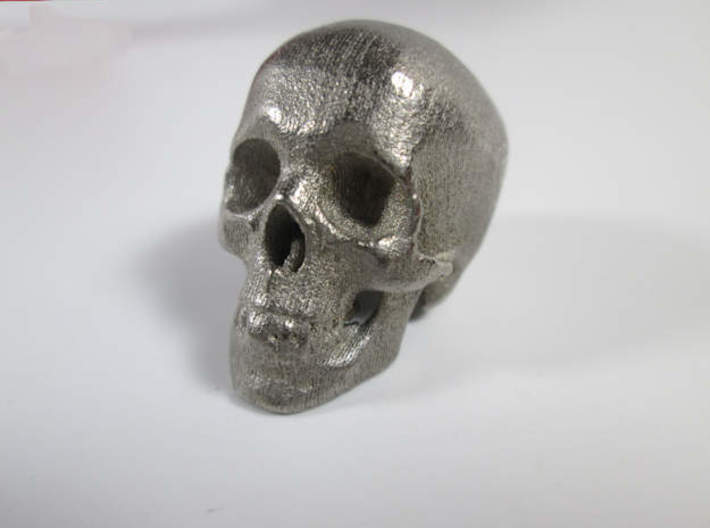 Skull Desk Ornament (1:20 scale) 3d printed