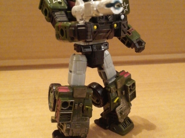 TF WFC Siege - Hound G1 Cartoon Kit 3d printed
