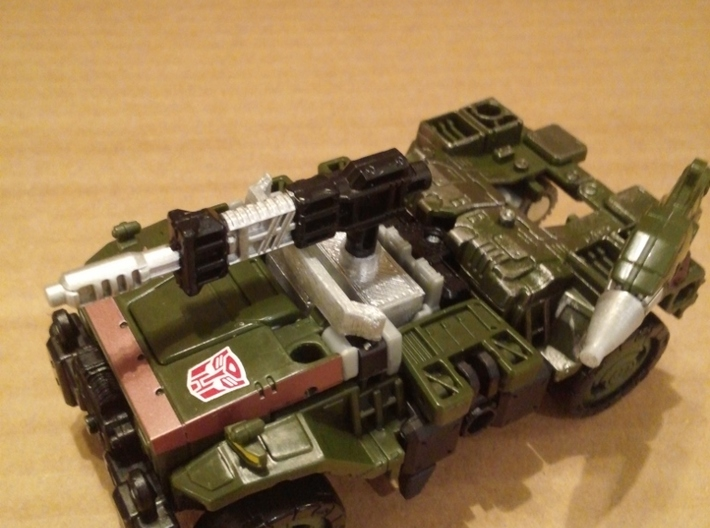 TF WFC Siege - Hound G1 Toy Kit 3d printed