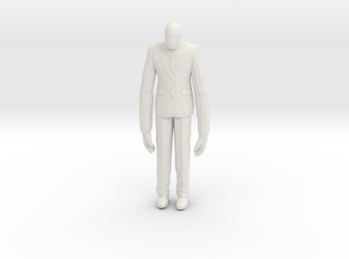 Slenderman 1/60 miniature for games and rpg horror 3d printed