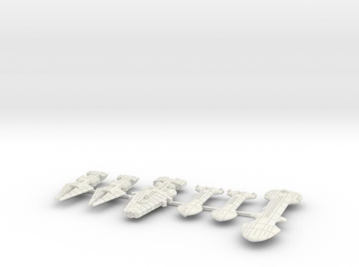 QSR Package: KON versus RPSA (Sprued) 3d printed