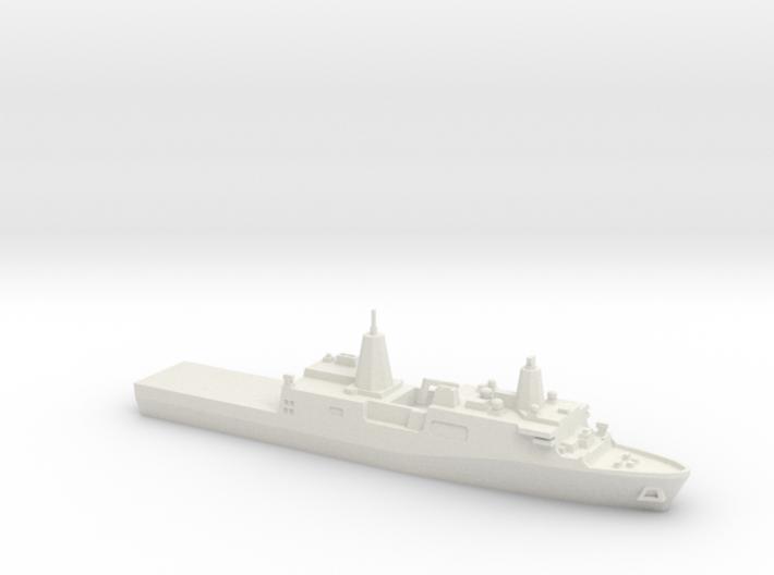 San Antonio-class LPD, 1/1800 3d printed