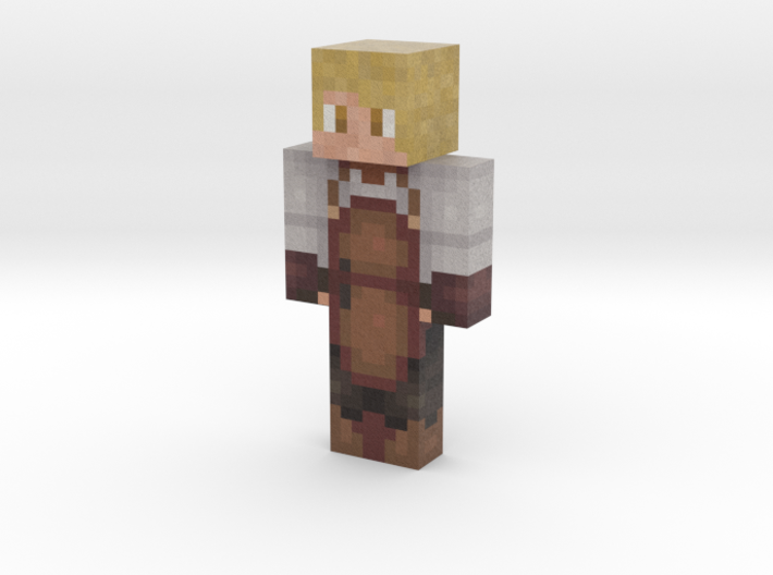 Chaco__Taco   Minecraft toy 3d printed