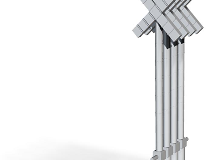 poteaux PN SNCB MNSB moderne HO mod signeulx 4 pc 3d printed