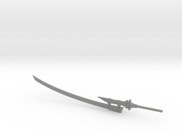 6 inch Neir Automata Virtuous Treaty Sword 3d printed