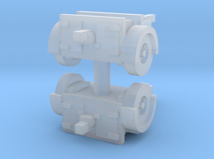 QF 25 Limber (2 pieces) 1/285 3d printed