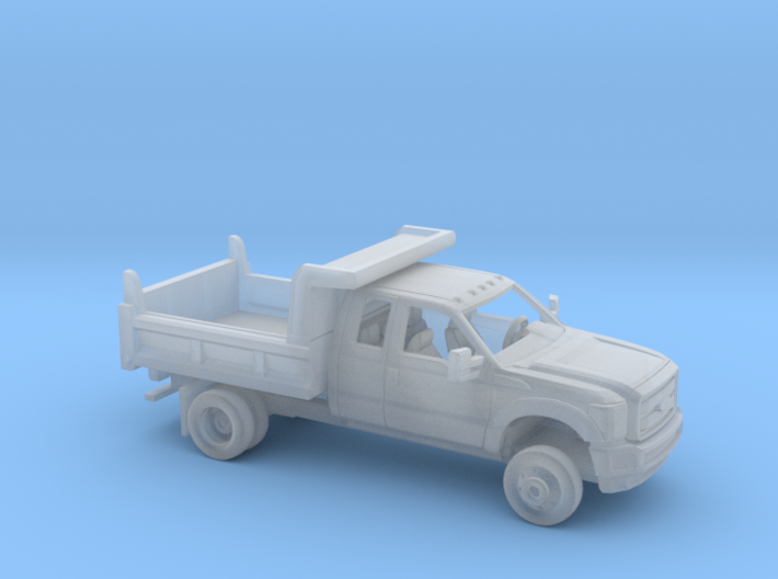 1/160 2011-16 Ford F Series Ext Cab Dump Kit 3d printed