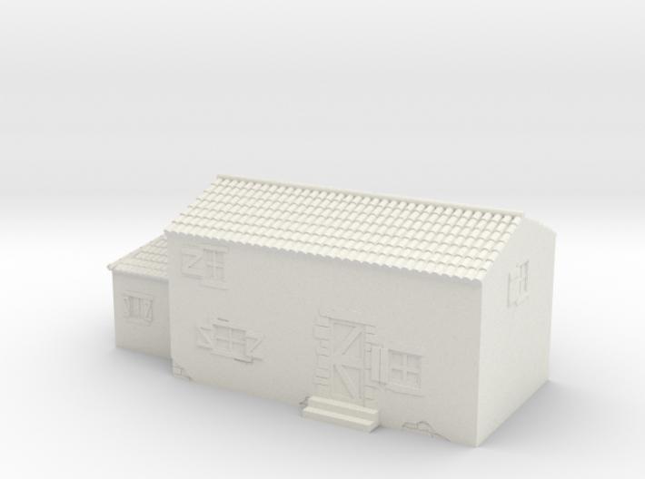 Italian style house 1/144 3d printed