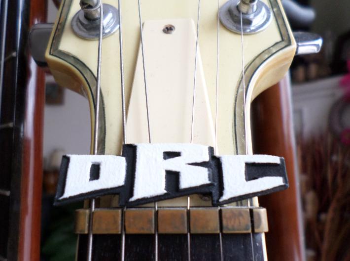Coming Soon! Monogram Guitar Pendant 3d printed Monogram Guitar Pendant Electric