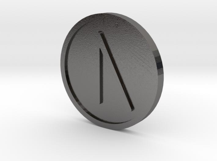 Uruz Coin (Elder Futhark) 3d printed