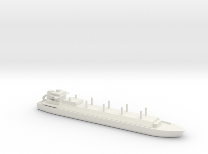 1/1800 Scale LNG Square Tanker 3d printed