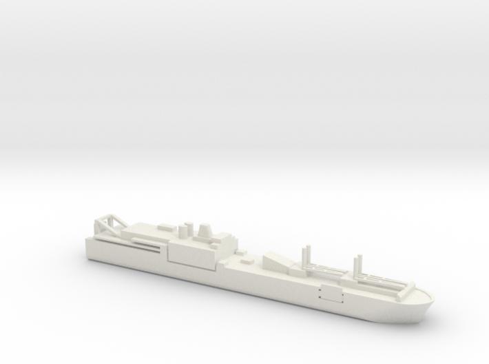 1/1250 Scale USNS Shughart T-AKR-295 3d printed