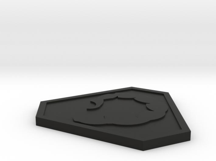 Command and Conquer NOD Logo 3d printed