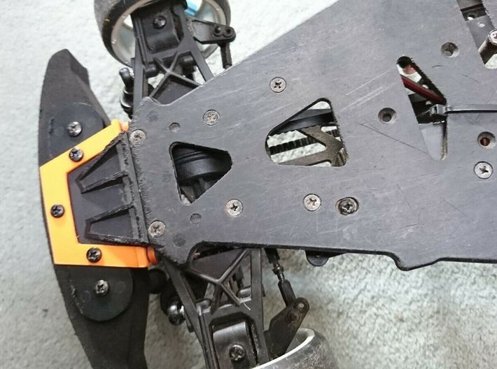 HPI sprint 2 locking plate 3d printed