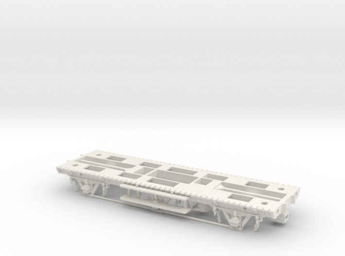 GWR Tadpole A Diag. S5, Part 1 Chassis 3d printed