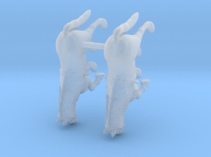 Farm Horse w/Harness Set 3d printed