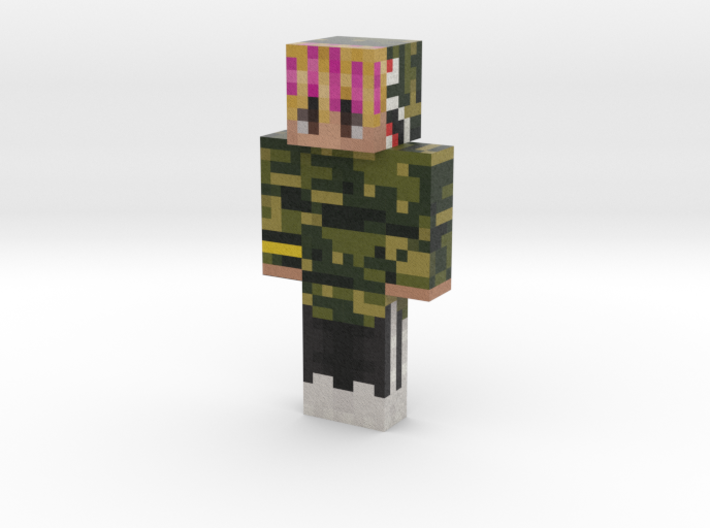 lilpump | Minecraft toy 3d printed