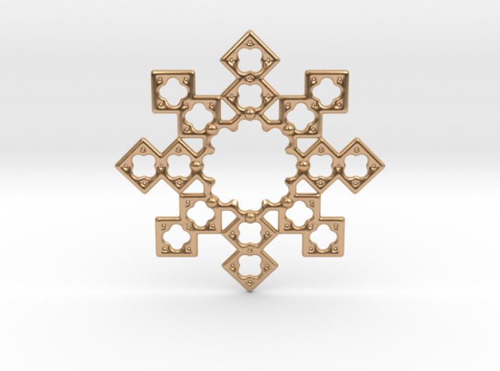 Octostar Nj Edit. Pendant 3d printed