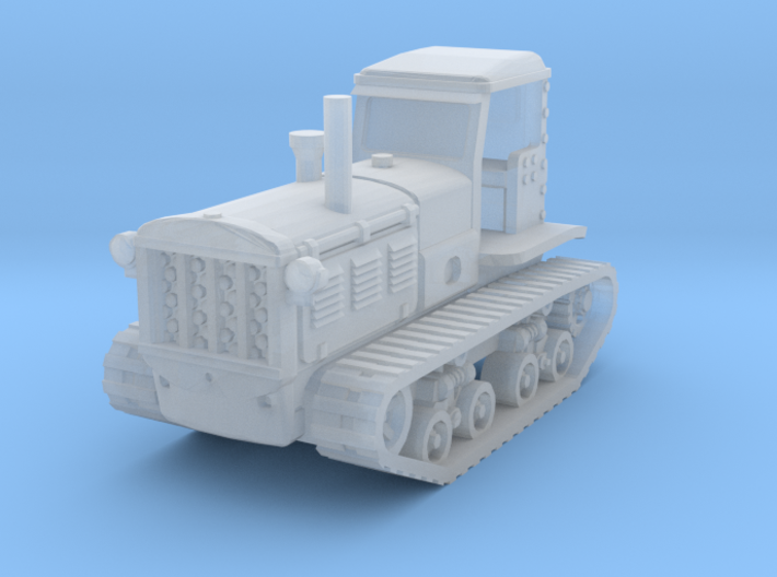 STZ 3 Tractor (late) 1/200 3d printed