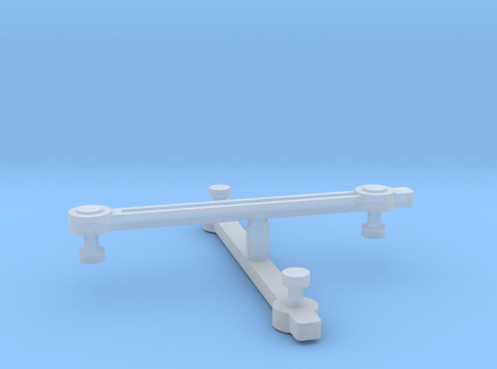 Con-Cor 4-6-4 Eccentric Rods - N Scale 3d printed