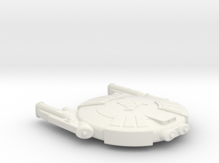 3788 Scale Andromedan Eel Scout SRZ 3d printed