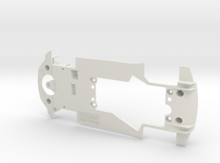 PSCA00203 Chassis for Carrera Audi R8 LMS GT3 3d printed