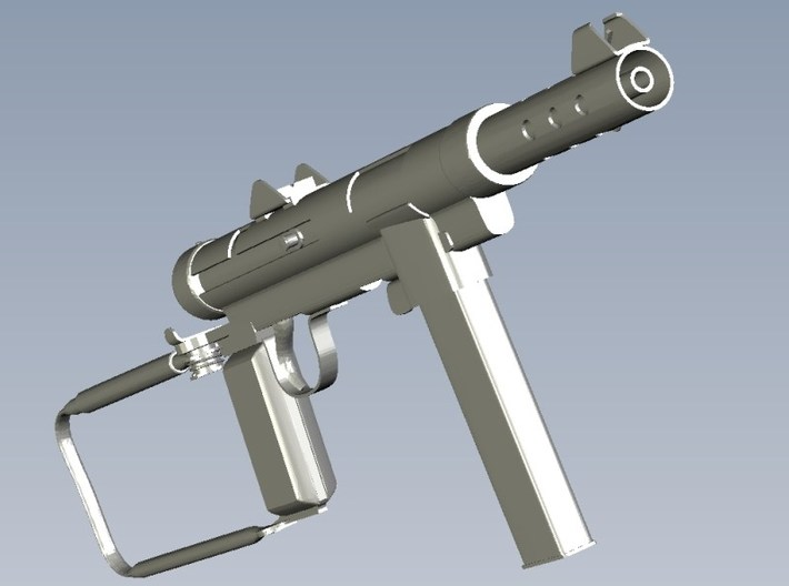 1/24 scale Carl Gustav M-45 submachineguns x 3 3d printed