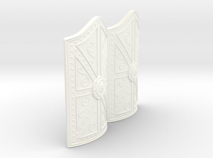 MYCENAEAN RECTANGLE SHIELD X2 3d printed