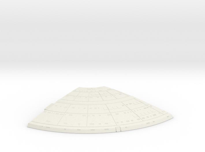 1/1400 Ambassador proposal Left Upper Saucer (Fron 3d printed
