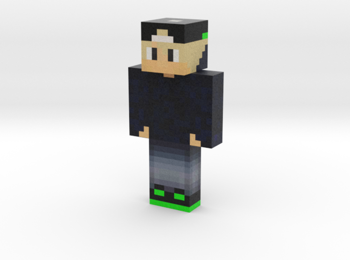 Commander_Max | Minecraft toy 3d printed