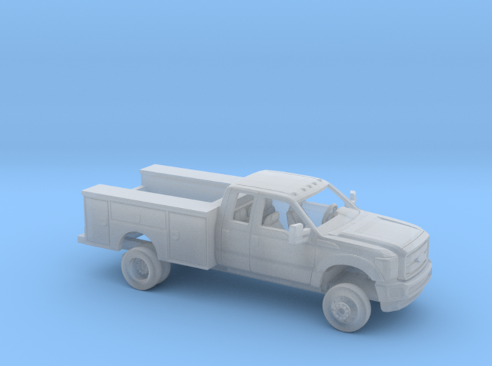 1/87 2011-16 Ford F Series Ext Cab Utillity Kit 3d printed