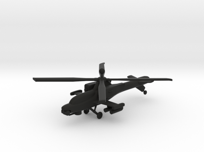 OAH-43A Rattler Attack Helicopter 3d printed