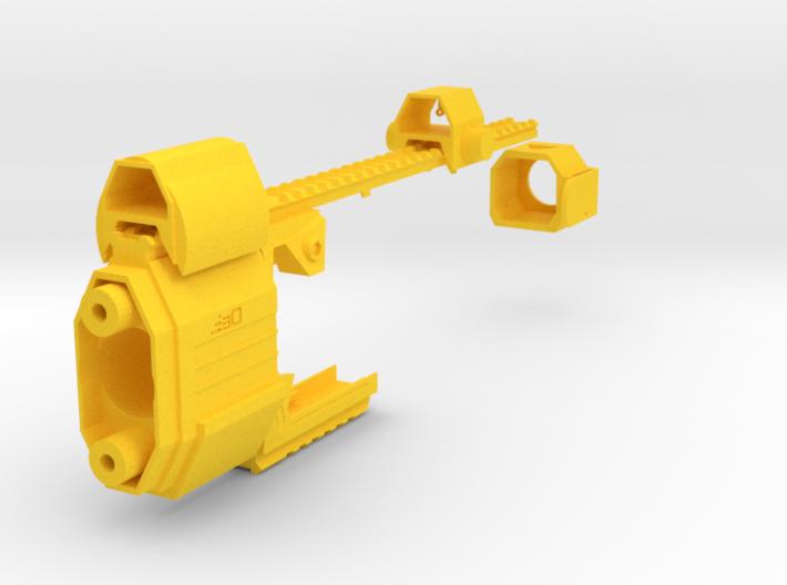 Laser Pulse Submachine Blaster Kit for Nerf Stryfe 3d printed