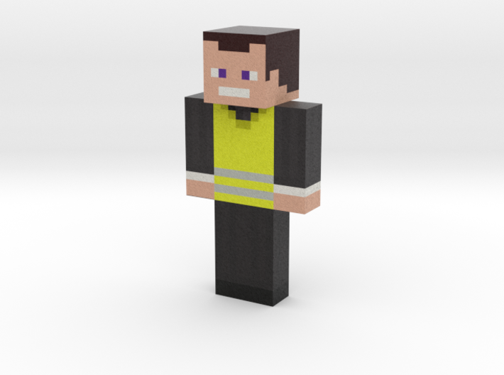 FRyzOks | Minecraft toy 3d printed