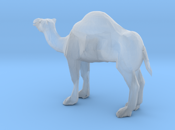 S Scale Camel 3d printed This is a render not a picture