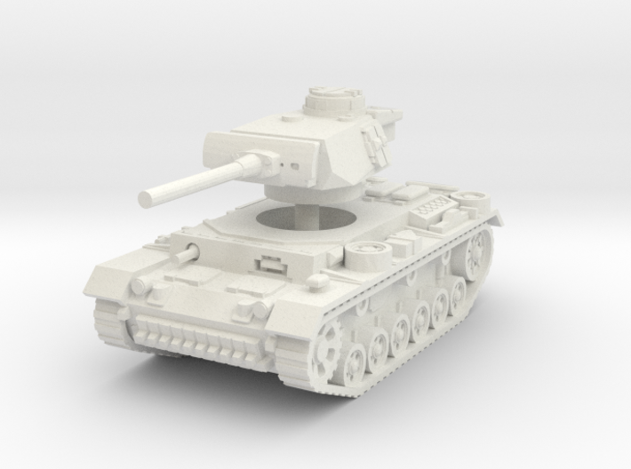 Panzer III L 1/32 3d printed